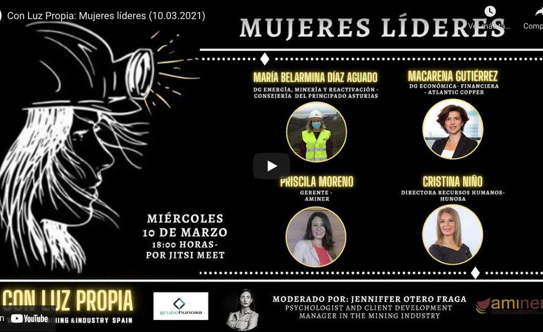 CON LUZ PROPIA: Mujeres líderes