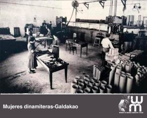 Mujeres dinamiteras en Galdakao