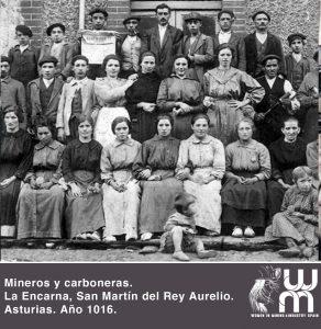 Mineros y carboneras en Asturias