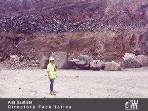 Aurora Bautista en una mina