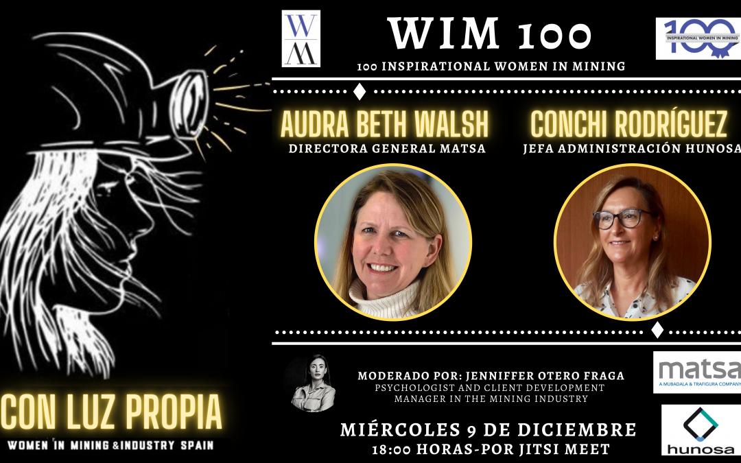 CON LUZ PROPIA: Webinar con Audra Walsh y Conchi Rodríguez