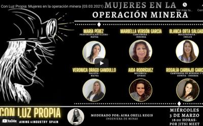 CON LUZ PROPIA: Mujeres en la operación minera