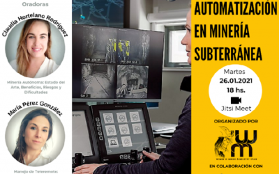 WOMINAR: Automatización en Minería Subterránea