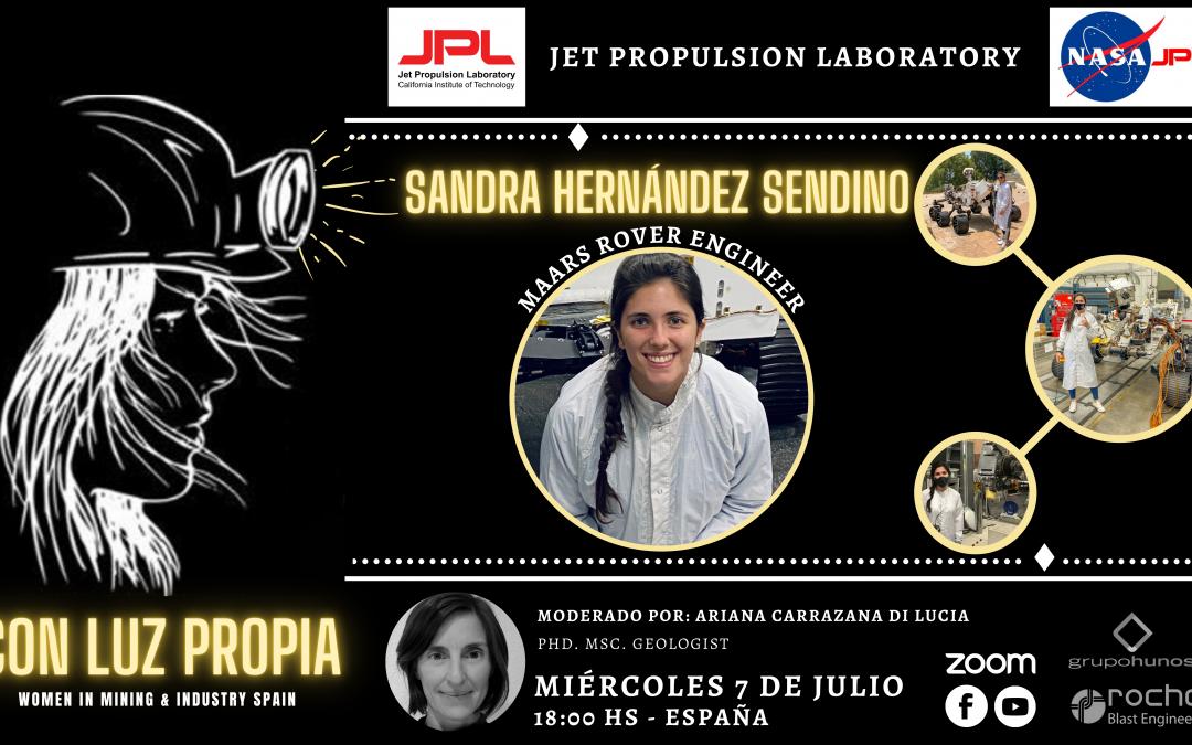 CON LUZ PROPIA: Sandra Hernández Sendino